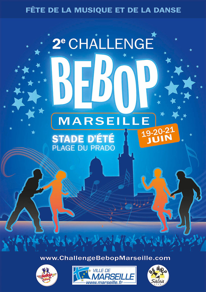 Challenge Bebop Marseille / Affiche